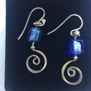 Silver and fused glass
